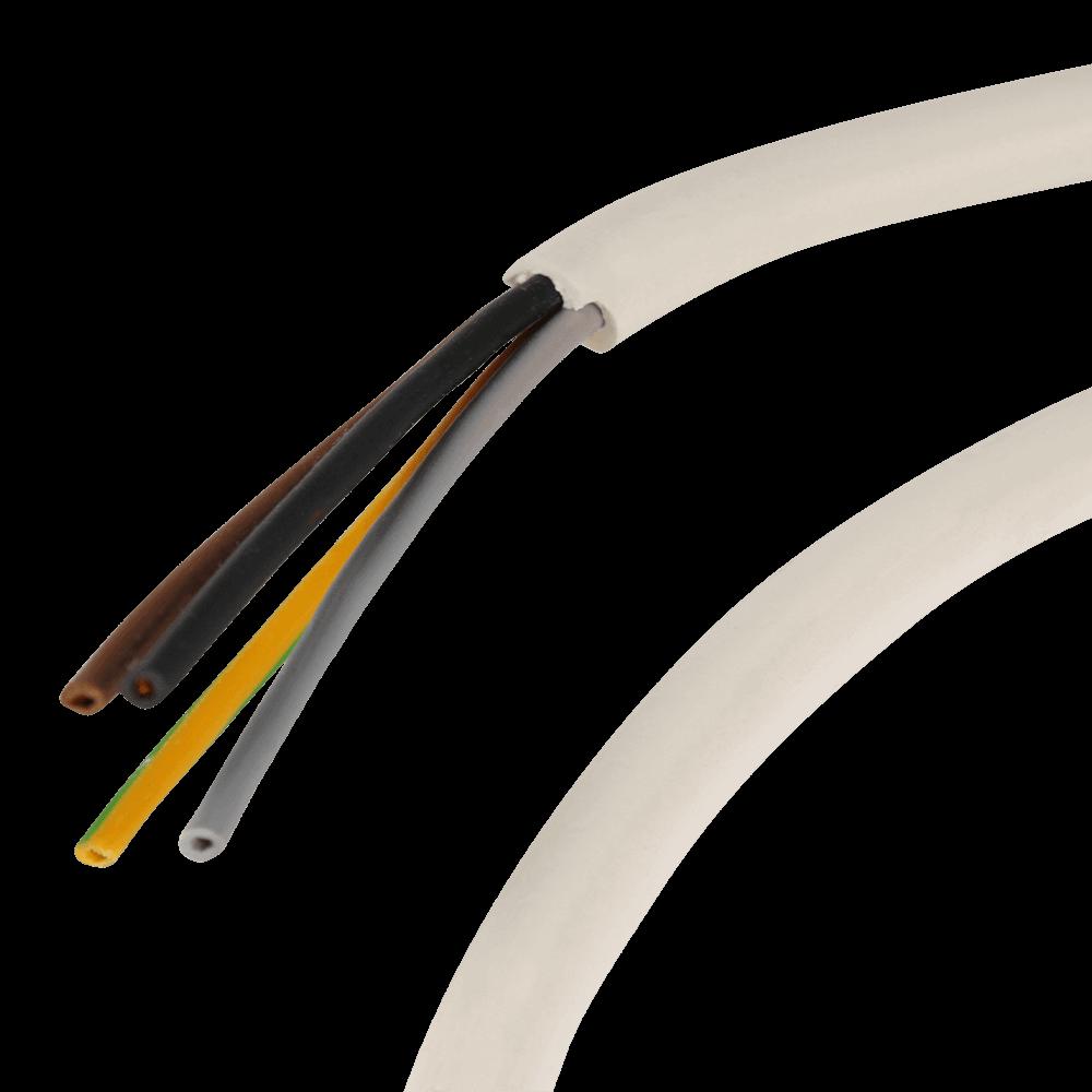 Elektrokabel   4-adriges Kabel als Meterware vielseitig einsetzbar