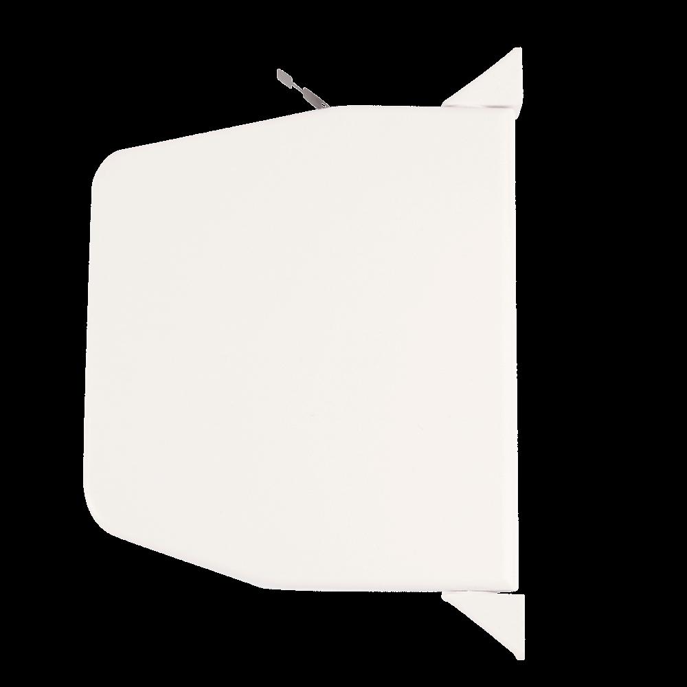 Gurtwickler mini AUFPUTZ | Aufputzgurtwickler für 14mm Gurt mit Designkappen, Lochabstand 15,3cm