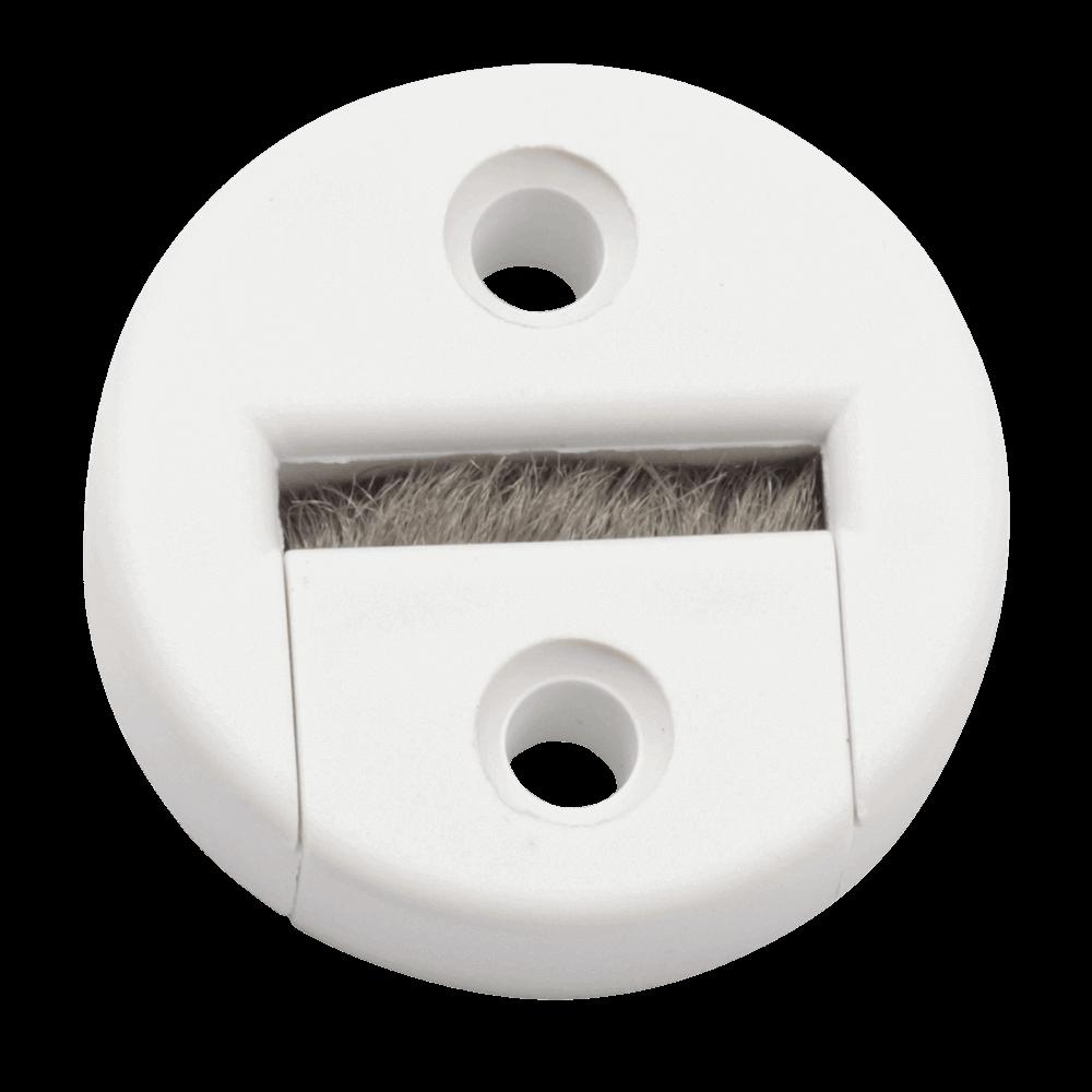Gurtführung MAXI rund | Gurtführung runde Variante mit Bürste für 20-24mm breites Gurtband, Lochabstand 23mm
