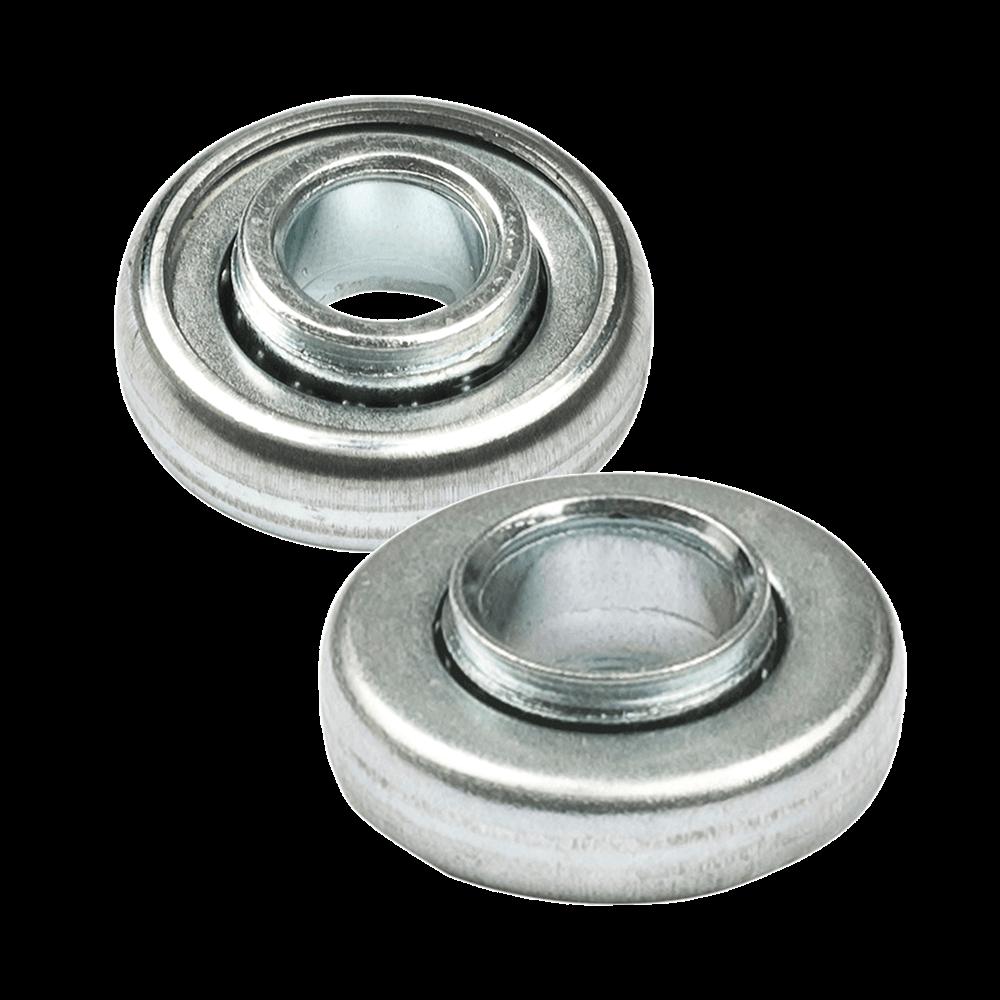 Kugellager mini   aus Metall mit 28mm Durchmesser und Bohrung 10mm oder 12mm