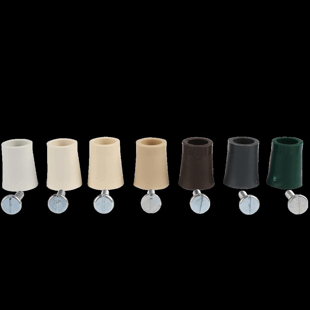 Anschlagstopper mini   auch Anschlagpuffer oder Stopfen genannt, mit 28mm Länge, viele Farben
