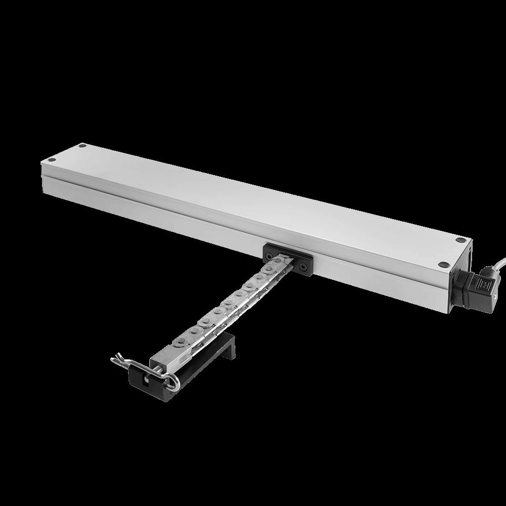 Fensteröffner Linea Micro XL   Antrieb mit Gelenkkette für große Kipp-, Klapp- & Dachflächenfenster in 2 Anschlussvarianten