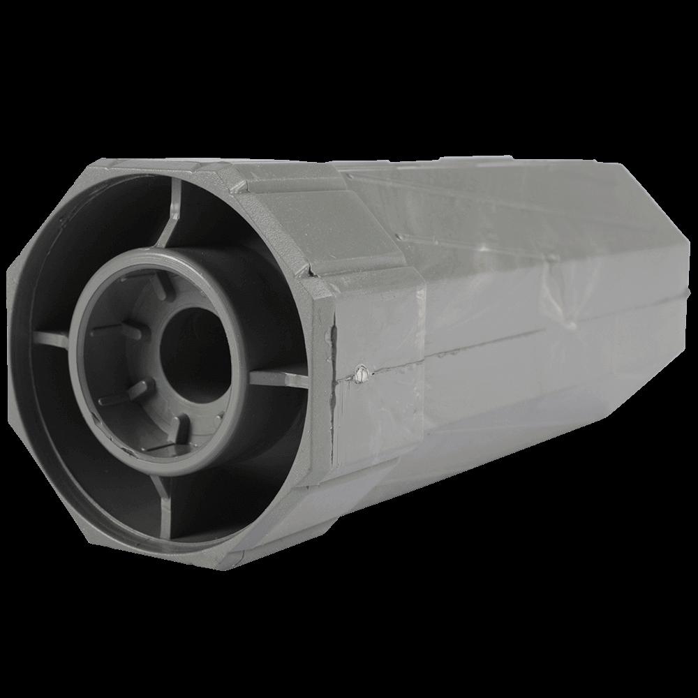 Walzenkapsel MAXI   ohne Stahlstift, aus PVC für 60mm 8-Kant Stahlwellen geeignet