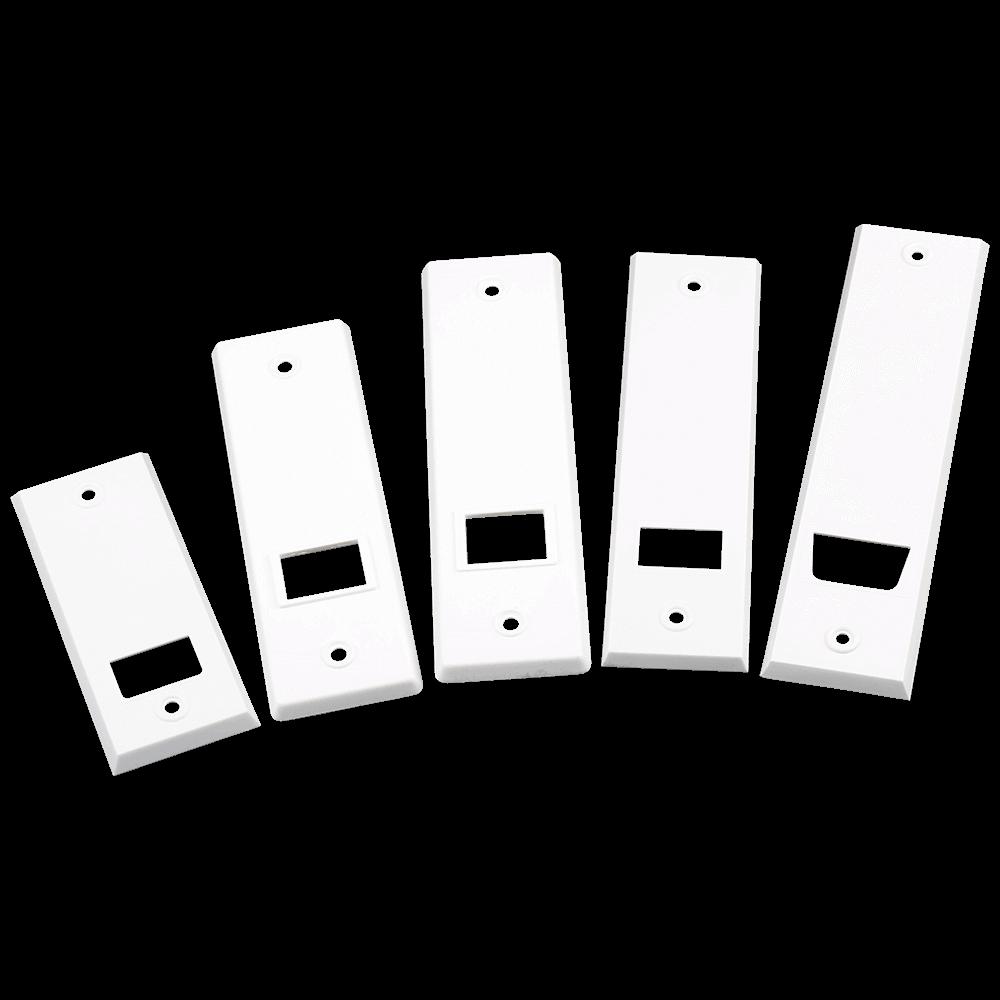 Abdeckplatte Kunststoff | für MAXI-Gurtwickler mit verschiedenen Lochabständen zur Auswahl