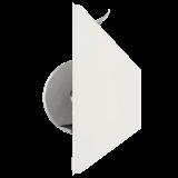Gurtwickler mini Halb-Einlass | Halb-Einlassgurtwickler inkl. Abdeckung für 14mm Gurt, Lochabstand 13,5cm