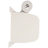 Gurtwickler MAXI AUFPUTZ | Aufputz-Gurtwickler inkl. 7,5m Gurtband grau, Lochabstand 18,7cm