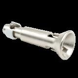Kupplungstrichter | für 12mm Verbindungszapfen auf Wunsch inkl. Kurbelstange aus Aluminium