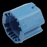 Adapter Kegelradantrieb | Anpassung Kegelradantrieb auf 60mm 8-Kant Welle aus PVC