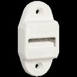 Gurtführung MAXI schmal | Gurtführung schmale Variante mit Bürste für 20-24mm breites Gurtband, Lochabstand 45mm