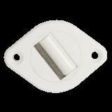 Gurtführung MAXI 360° | Gurtführung 360° drehbar mit Bürste für 20-23mm breites Gurtband, Lochabstand 44mm