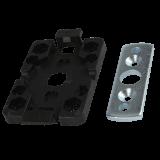 Klicklager mini | platzsparender Einbau eines 40er Rohrmotors im Rollladenkasten
