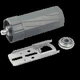 SET Zubehör MAXI [ 2 ] | für Umrüstung auf Motor, Kastenlager, Kugellager und Walzenkapsel MAXI im SET