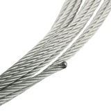 Ersatzseil für Seilwinde | Rollex UP Drahtseil in verschiedenen Ausführungen 2,5mm oder 3mm, Länge je 7m