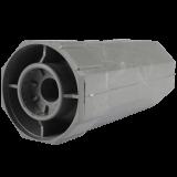 Walzenkapsel MAXI | ohne Stahlstift, aus PVC für 60mm 8-Kant Stahlwellen geeignet