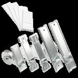 Gurtwickler MAXI 5m | Einlassgurtwickler inklusive weißer Abdeckung mit Lochabständen 105-185mm