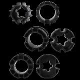 Adapter Markisenmotor FUNK | für Tuchwelle rund Schlüsselweite 70mm, 78mm oder 85mm